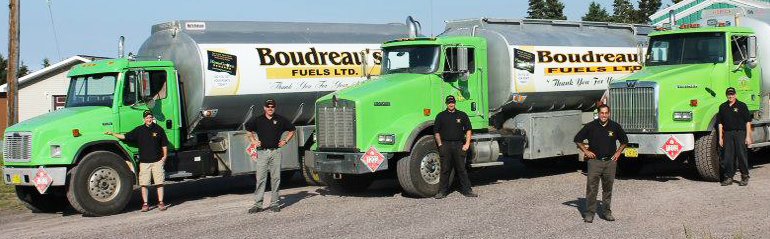 About Boudreau's Fuels