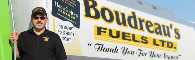 Boudreau's Fuels Delivery Truck